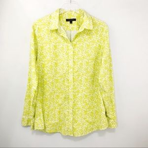 Banana Republic Dillon Shirt Button Down Floral